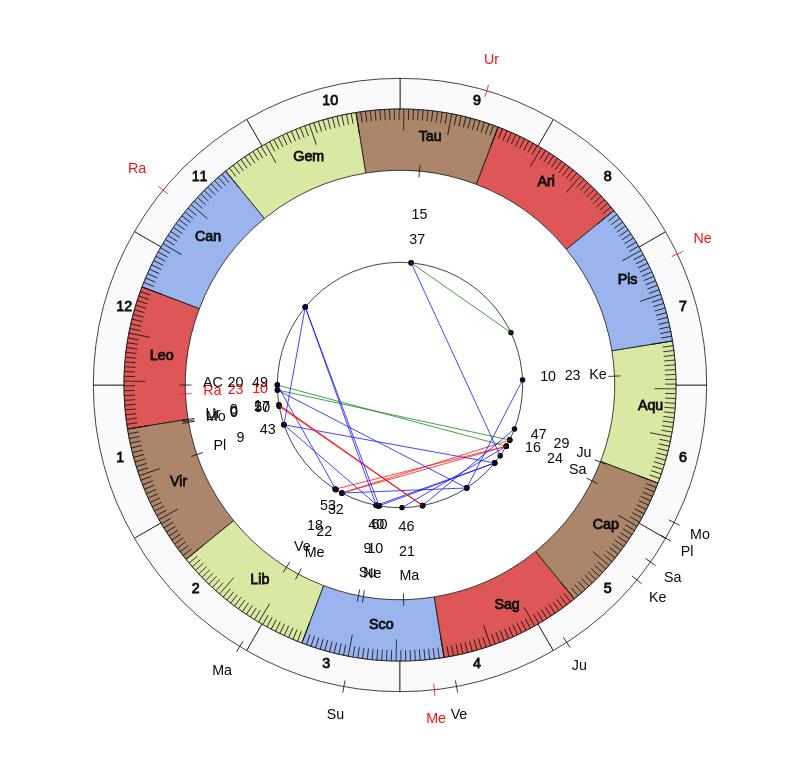 Vedic astrology calculator